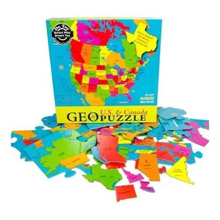 Fun Geography Puzzles - KidTrail Cool Find