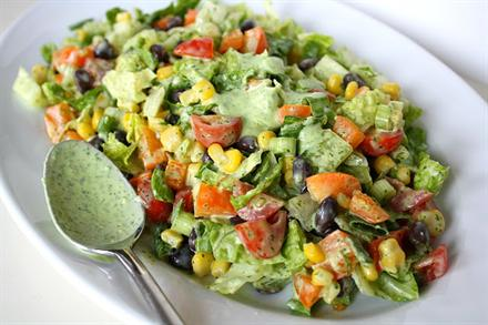 Southwest Chopped Salad - KidTrail Recipe