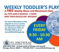 FREE Babies & Tot Music and Movement, every Friday