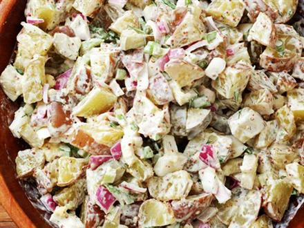 Potato and Artichoke Salad - KidTrail Recipe