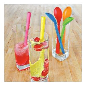 Sip - N - Spoon Straw! - KidTrail Find