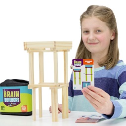 Wood Building Challenge! - KidTrail Cool Find