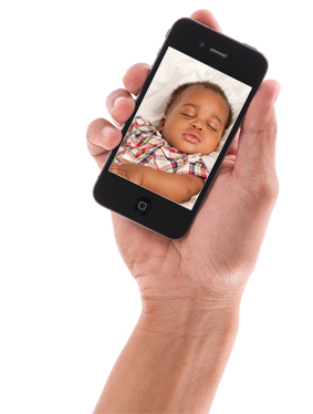 Watch your baby from anywhere! - KidTrail Find