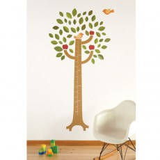 Fabric Growth Chart Wall Decal - KidTrail Find