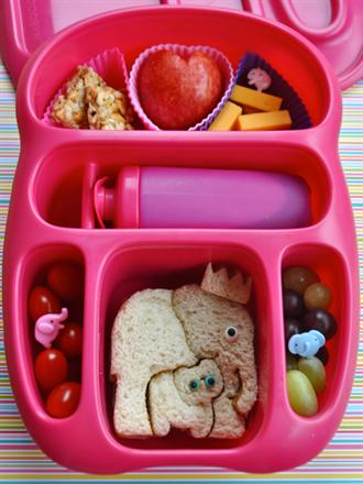 Bento Style Lunch Box - KidTrail Find