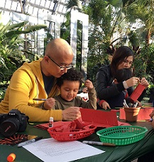 FREE Nature Activity Workshop Every Wknd at Garfield Park Conservatory