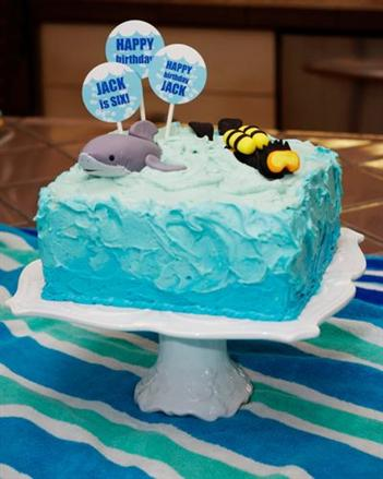 Edible Art for Cakes - KidTrail Find