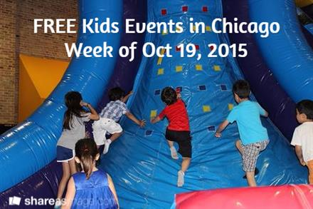 Free Kids Events This Week - KidTrail Pick
