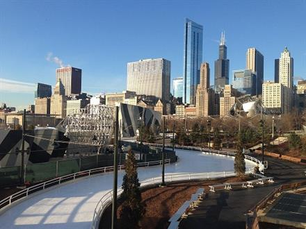 Ice Skating Opens at Maggie Daley - KidTrail Pick