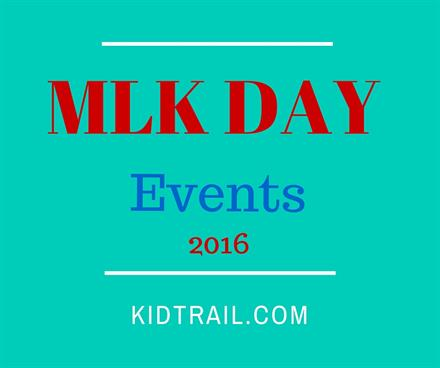 MLK Day Events in Chicago 2016 - KidTrail Pick