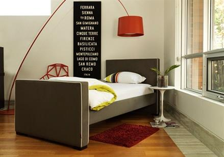 Modern Upholstered Kid Bed - KidTrail Cool Find