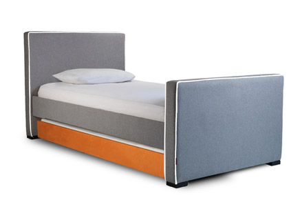 Modern Upholstered Kid Bed - KidTrail Find