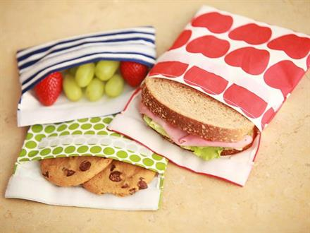 Fabric Lunch Baggies - KidTrail Find