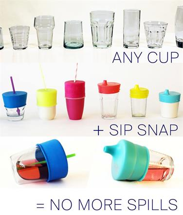 Turn Any Cup Into A Sippy Cup - KidTrail Find