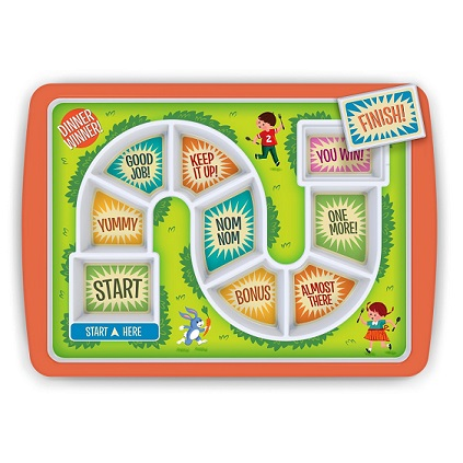 Board Game Dinner Plate - KidTrail Cool Find
