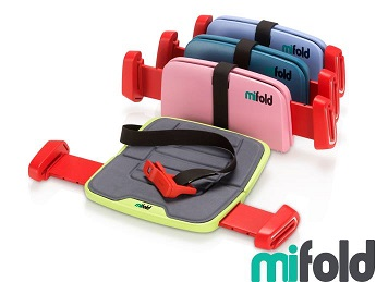 Portable Car Booster Seat, 10x Smaller! - KidTrail Find