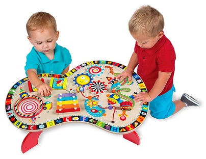 Busy Table Activity Center by Alex Toys - KidTrail Cool Find