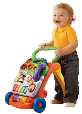 V Tech Sit to Stand Learning Walker - KidTrail Cool Find