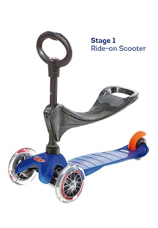 Mini 3 in 1 Scooter, Grows with your Child! - KidTrail Cool Find