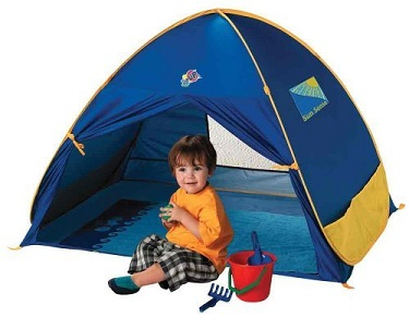 UV Protection Beach Tent for Kids - KidTrail Cool Find