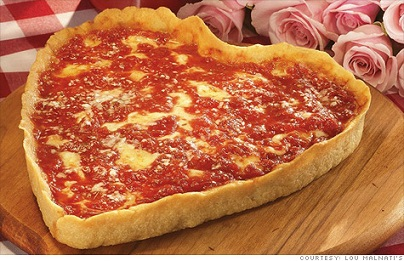 8 Chicago Places for Valentine's Heart Shaped Pizzas - KidTrail Pick