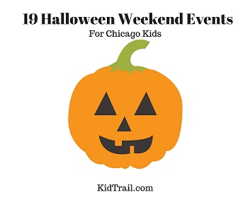 19 Halloween Weekend Events for Chicago Kids - KidTrail Pick