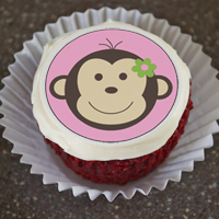 Edible Cupcake Toppers - KidTrail Cool Find