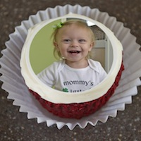Edible Cupcake Toppers - KidTrail Find