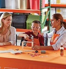 FREE Kids Workshop at Home Depot, All Locations. First Sat of each Month.